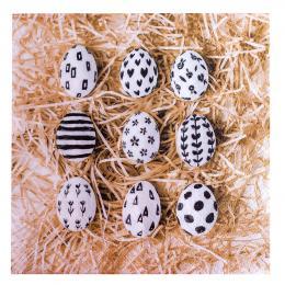 Serwetki papierowe - jajka na sianku