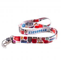Smycz do kluczy 2cm - BYDGOSZCZ symbole