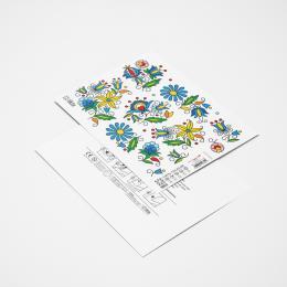 Tatuaże zmywalne - kwiaty kaszubskie
