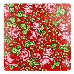 Puzzle drewniane - góralski czerwony