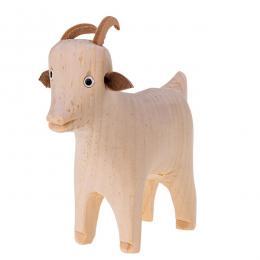 Tradycyjna zabawka ludowa - wiejska zagroda - drewniana kózka eko