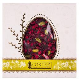 Wielkanocna czekolada deserowa z wiśniami i pistacjami