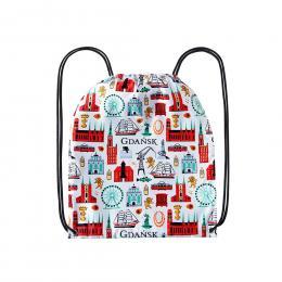 Worek, plecak sportowy - GDAŃSK symbole