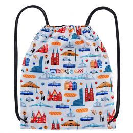 Worek, plecak sportowy - WROCŁAW symbole