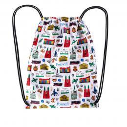Worek, plecak sportowy - POZNAŃ symbole