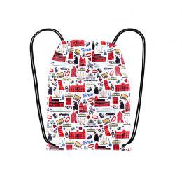 Worek, plecak sportowy - TORUŃ symbole