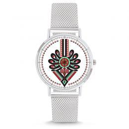 Zegarek - parzenica - na bransolecie