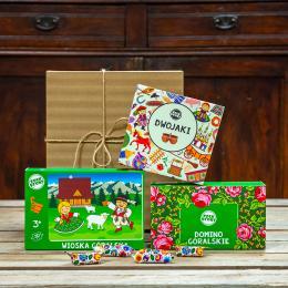 Zestaw prezentowy dla dziecioka - góralski
