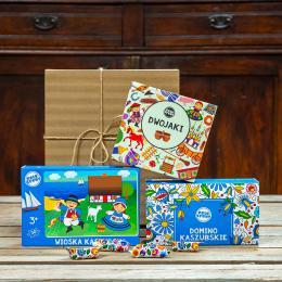 Zestaw prezentowy dla dziecioka - kaszubski